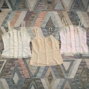 Sweet Vintage Lace Camisole Bundle